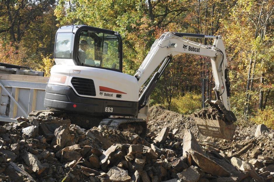 Bobcat E63 Compact Excavator full