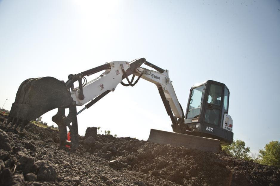 Bobcat E42 Compact Excavator full