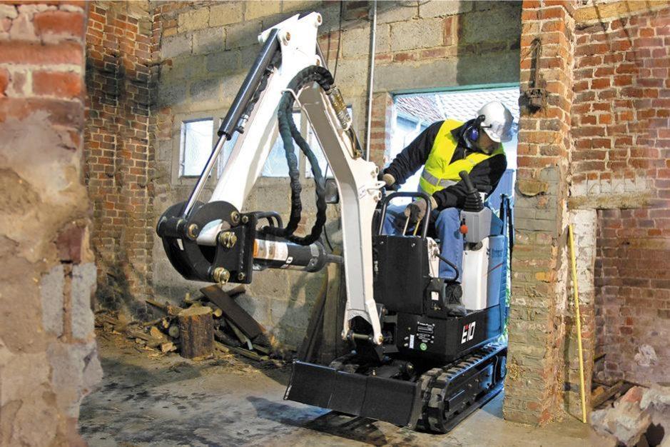 Bobcat E10 Compact Excavator full