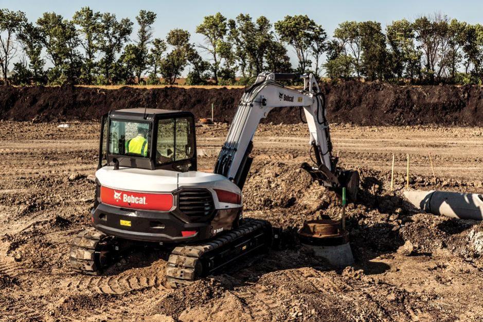 Bobcat E85 Compact Excavator full