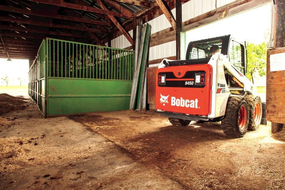 Bobcat S450 Skid-Steer Loader full