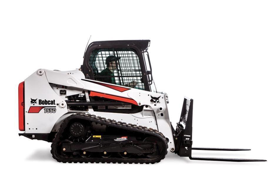 Bobcat T550 Compact Track Loader (Roller Suspension Option)