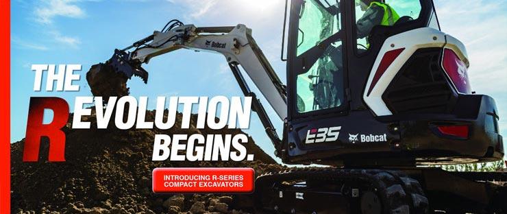 Bobcat E35 Revolution