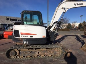 Used 2013 BOBCAT 17 E80  COMPACT EXCAVATOR