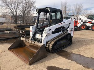 Used 2016 BOBCAT  T550  COMPACT TRACK LOADER