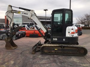 Used 2012 BOBCAT E45  COMPACT EXCAVATOR