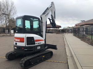Used 2017 BOBCAT  E35  COMPACT EXCAVATOR