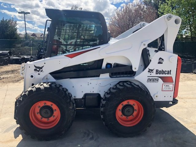 Used 2018 BOBCAT S850 SKID-STEER LOADER For Sale in CO and WY