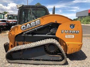 Used 2014 CASE TV380 CASE TRACK LOADER