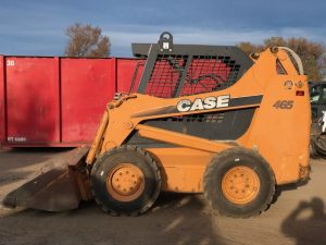 Used 2007 CASE CASE465 CASE SKID STEER LOADER