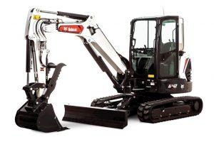 Bobcat E42 Compact Excavator (Extendable Arm)
