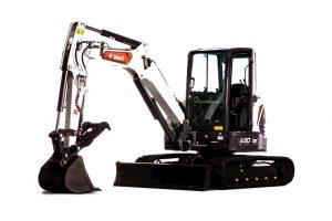 Bobcat E50 Compact Excavator (Long Arm)