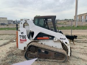 Used 2001 BOBCAT T190  COMPACT TRACK LOADER